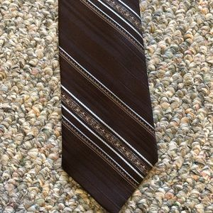 Southport Striped Polyester Tie
